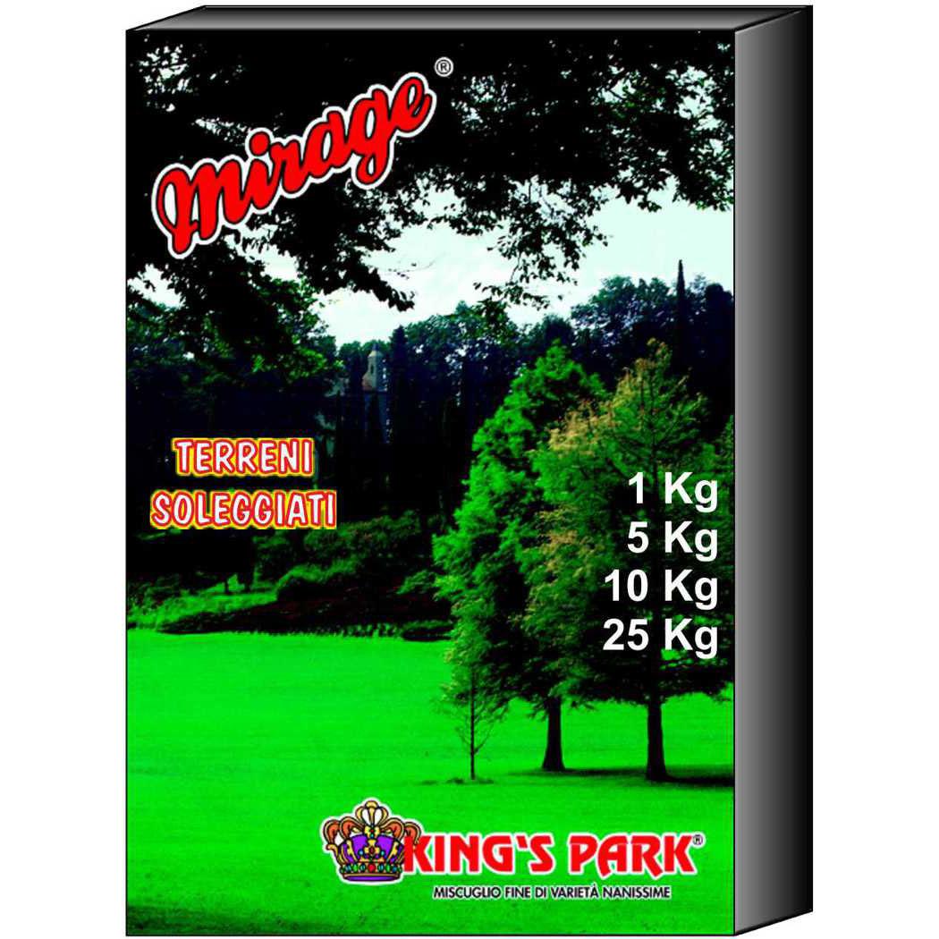 Misc. Tappeti Verdi King's Park (Soleggiati) 10kg