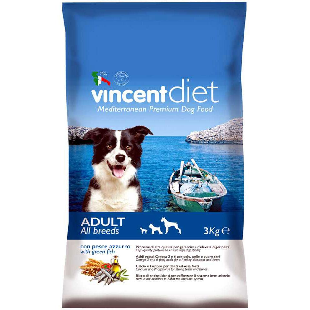 Vincent Diet Adult Pesce 3 kg