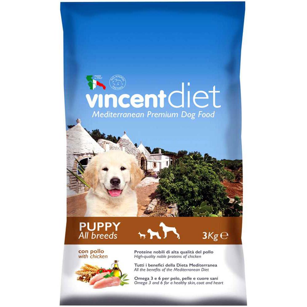 Vincent Diet Adult Puppy 3 kg